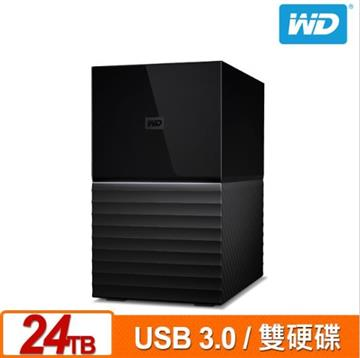 WD 3.5吋 24TB 外接硬碟(My Book Duo) WDBFBE0240JBK-SESN