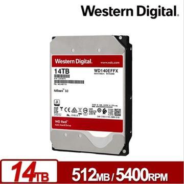WD 3.5吋 14TB NAS專用SATA硬碟(紅標)