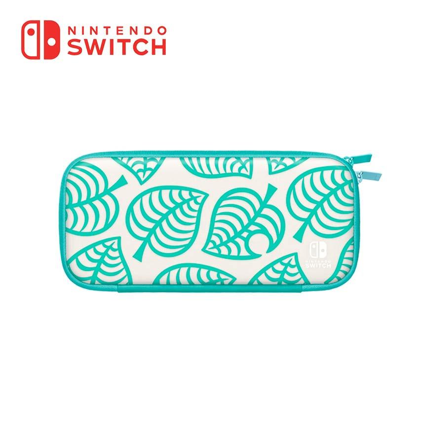 Switch Lite主機便攜包 動物森友會版 Nook夏威夷花紋