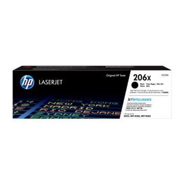 惠普HP 206X 黑色原廠 LaserJet 碳粉匣