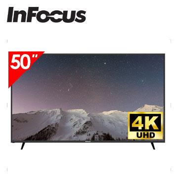 Infocus 50吋 UHD LED智慧連網液晶電視