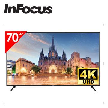 Infocus 70吋 UHD LED智慧連網液晶電視
