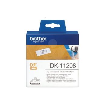 Brother DK-11208 耐久型紙質標籤帶 DK-11208
