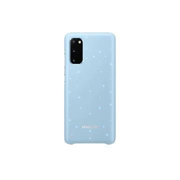 三星SAMSUNG Galaxy S20 原廠LED智慧背蓋-藍