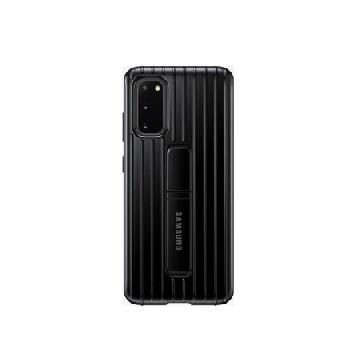 SAMSUNG S20+ 原廠立架式保護皮套-黑