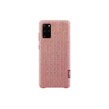 SAMSUNG Galaxy S20+ 原廠織布背蓋-紅 EF-XG985FREGWW