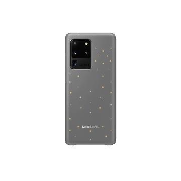 SAMSUNG S20 Ultra 原廠LED智慧背蓋-灰