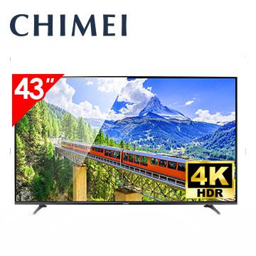 奇美CHIMEI 43型 4K  智慧連網顯示器 低藍光
