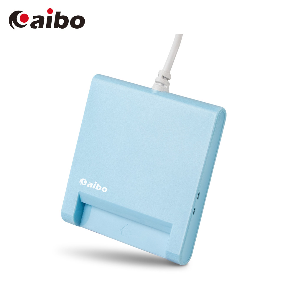 aibo AB22 ATM晶片讀卡機-藍
