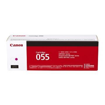 佳能Canon CARTRIDGE 055M 紅色碳粉匣 CRG-055M