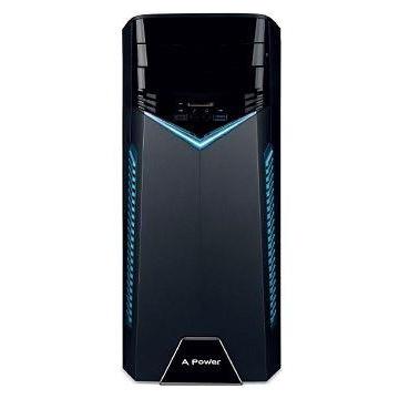 ACER宏碁 桌上型主機(i7-9700/8GD4/512G) T200 i7-9700 電競旋風