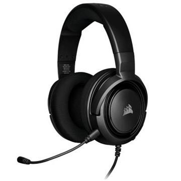 CORSAIR HS35 立體聲遊戲耳機-黑