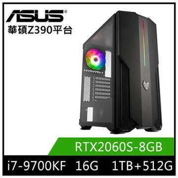 華碩平台[飛廉之弓]i7八核獨顯SSD電腦