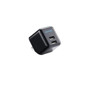 ONPRO 3.4A第二代超急速漾彩充電器-黑