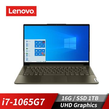 Lenovo聯想 YOGA Slim7i 筆記型電腦(W10/i7-1065G7/14FIPS/16GD4/1TBSSDNVME)
