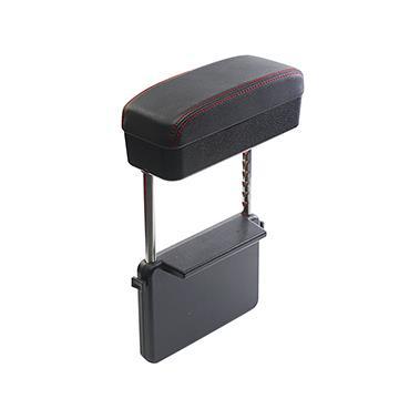 【安伯特】釋壓椅縫收納置物盒(單入)-黑紅