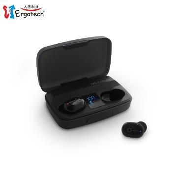 人因 BW20 超輕3.8克大電量真無線藍牙耳機-黑