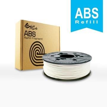XYZ Printing 3D列印ABS線材補充包(雪白色)