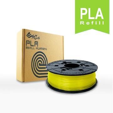 XYZ Printing-3D列印PLA線材補充包(透明黃)