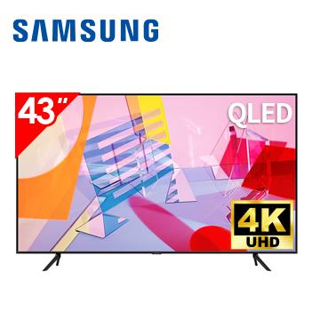 三星SAMSUNG 43型 4K QLED 智慧連網電視