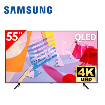 SAMSUNG 55型4K QLED 智慧連網電視 QA55Q60TAWXZW
