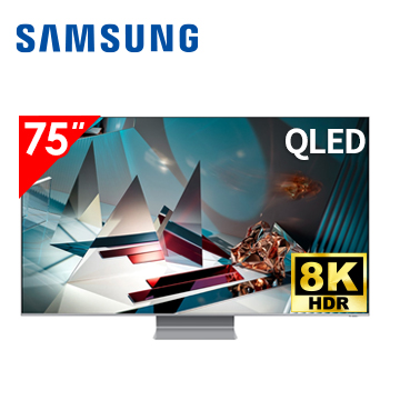 三星SAMSUNG 75型 8K QLED 智慧連網電視