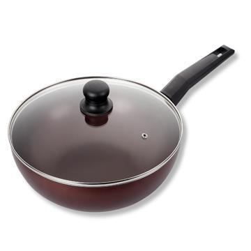鍋寶CookPower 紫晶不沾炒鍋-30cm附蓋