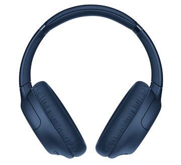 SONY索尼 無線藍牙耳罩式耳機-藍