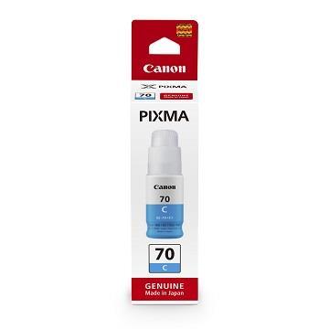 佳能Canon GI-70C 藍色墨水瓶