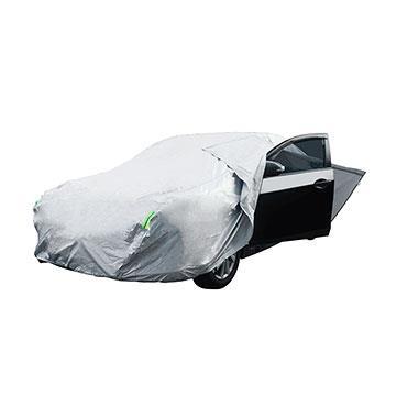 【安伯特】炫銀甲隔熱防雨車套 轎車C款