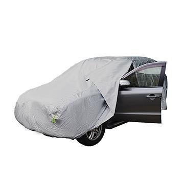 【安伯特】炫銀甲防雨車套 休旅車SUV-S款