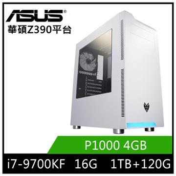華碩平台[杜奇歐]i7八核獨顯工作站