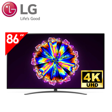 樂金LG 86型 1奈米 4K AI語音物聯網電視