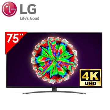 樂金LG 75型 1奈米 4K AI語音物聯網電視