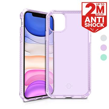 法國ITSKINS iPhone 11 防摔保護殼-透紫