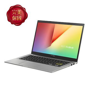 華碩ASUS Vivobook X413FP-幻彩白 14吋筆電(i5-10210U/MX330/8GD4/512G)