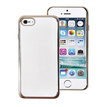 Tucano iPhone SE 超薄PC硬式保護殼-金 IPH74EK GL