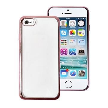 Tucano iPhone SE 超薄PC硬式保護殼-粉