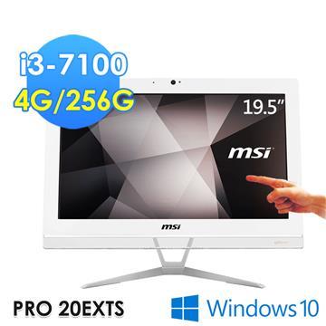 微星msi PRO 20EXTS 7M-086TW 液晶電腦 (i3-7100/4G/256G/Win10) PRO 20EXTS 7M-086TW