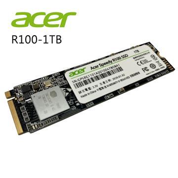 ACER Speedy R100 1TB M.2 PCIe固態硬碟