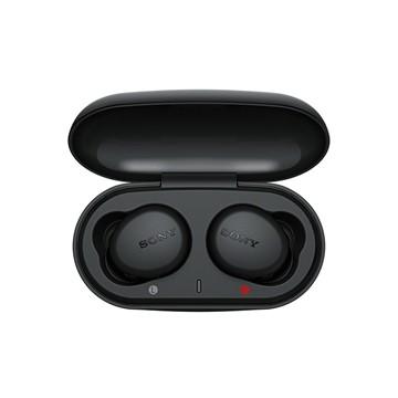 SONY索尼 真無線藍牙耳機-黑 WF-XB700/B