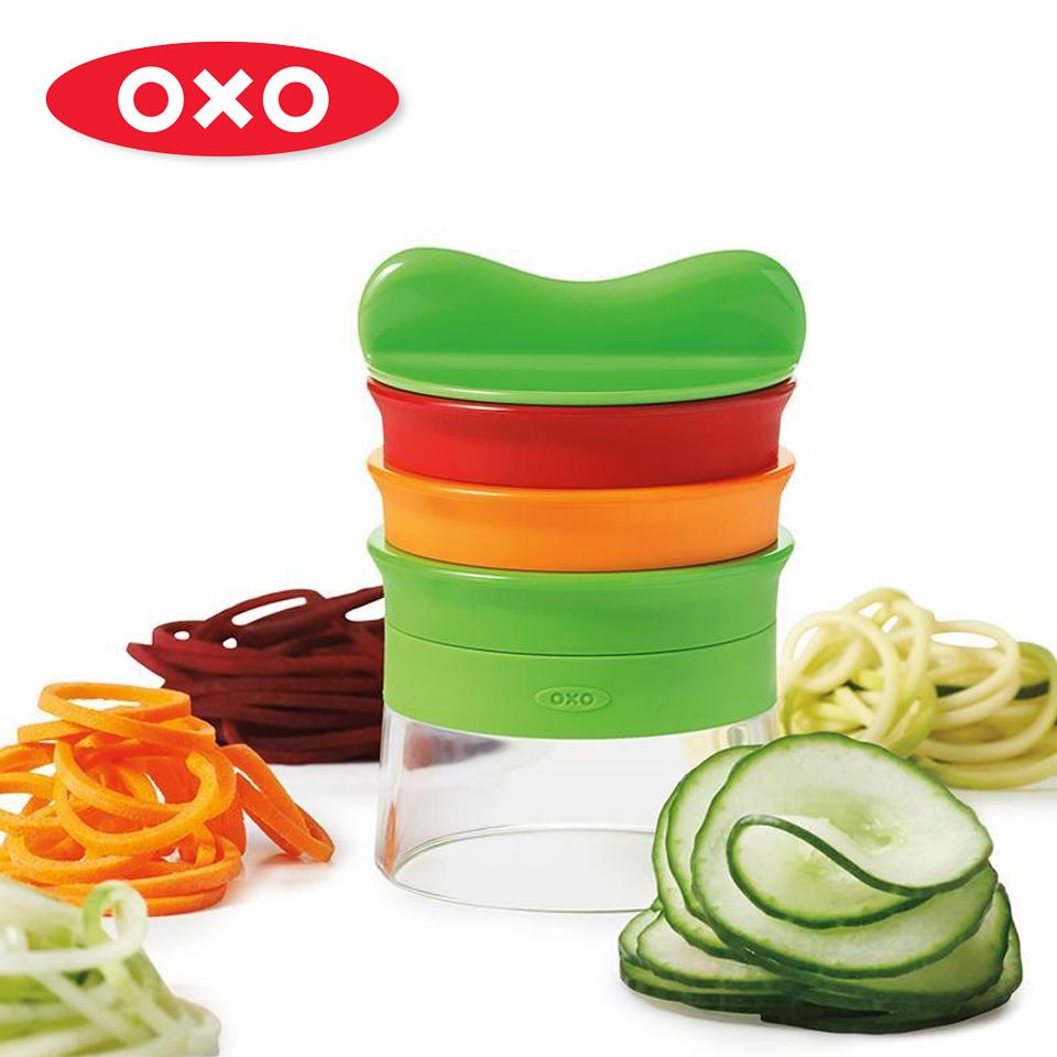 美國OXO 華麗三刀蔬果削鉛筆機 OXO-010410