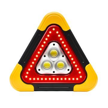 【OMyCar】太陽能LED三角警示燈 加大款