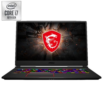 MSI 微星 GE75 筆記型電腦(W10P/i7-10750H/17F/20708G/16GD4/1T+512S) GE75 10SF-007TW