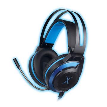 FOXXRAY炫藍響狐USB電競耳機麥克風