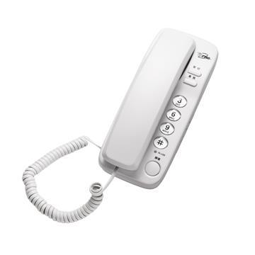 T.C.STAR 壁掛式大按鍵有線電話 白 TCT-PH500WE