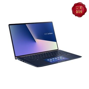 ASUS華碩 ZenBook 14 筆記型電腦 藍(i5-10210U/MX350/8GB/512GB) UX434FQ-0052B10210U