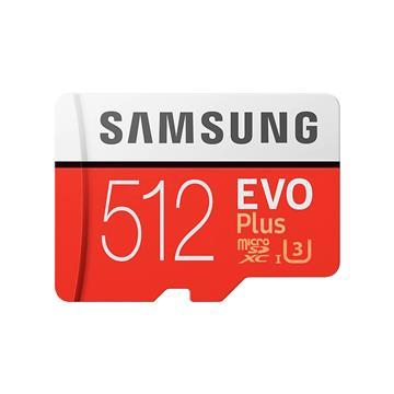 SAMSUNG三星 EVO Plus MicroSD 512G記憶卡