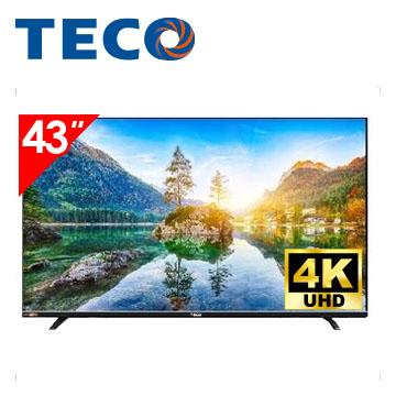 東元TECO 43型4K連網顯示器
