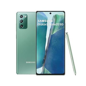 三星SAMSUNG Galaxy Note20 5G 智慧型手機 星霧綠